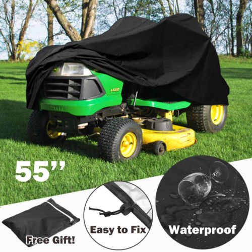 Waterproof Ride On Lawnmower Cover - 55""